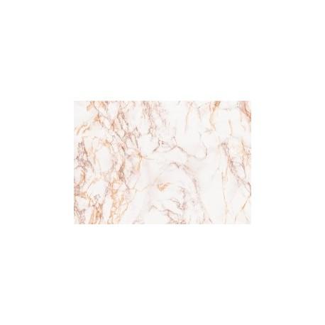 Marmura alb maron