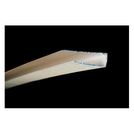 Terminatie PVC alb